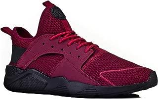 Cabani Light Taban Bağcıklı Sneaker Erkek Ayakkabı Bordo Luxury Tekstil