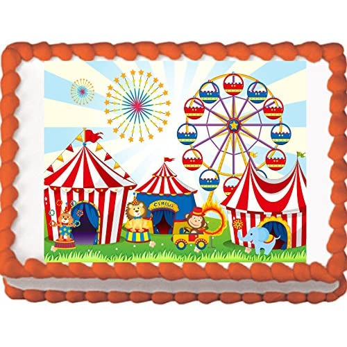Swell Circus Cake Amazon Com Personalised Birthday Cards Paralily Jamesorg