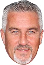 Paul Hollywood Celebrity Mask, Card Face and Fancy Dress Mask