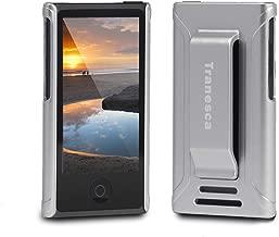 Tranesca Compatible with iPod Nano Protective case for Apple iPod Nano 7th & 8th Generation (Ivory Silver)
