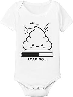 Spruchreif24de Baby Body Strampler Emojie Shit Loading Geschenk Idee Geburt