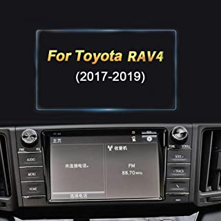 in-Dash Media Touch Screen GPS Display Protective Film 8X-SPEED for 2013 2015 2016 Toyota RAV4 6-Inch 135x71mm Car Navigation Screen Protector HD Clarity 9H Tempered Glass Anti-Scratch