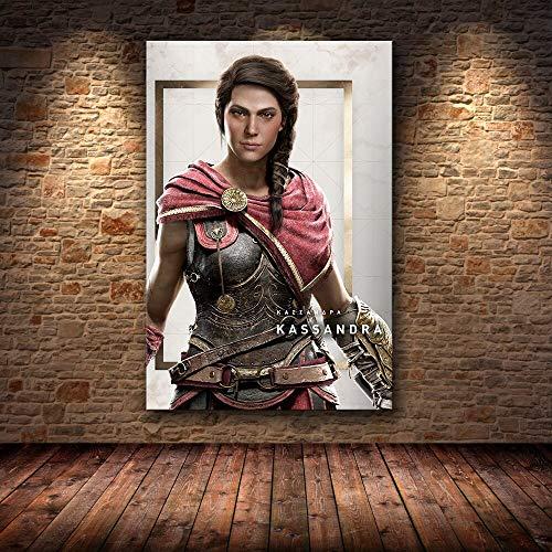 UHvEZ 1000 Piezas_ Rompecabezas de Madera para niños Assassin'S Creed Imagen de Montaje de Madera Juguetes para Adultos Juegos para niños Juguetes educativos 50x75cm