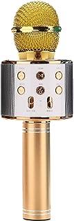 DXIA Karaoke Microfoon Bluetooth, Draadloze Karaoke-microfoon Bluetooth-luidspreker, Draagbare Microfoon Luidspreker,1800 ...