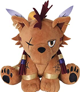 Final Fantasy VII: Red XIII Plush Action Doll, Multicolor