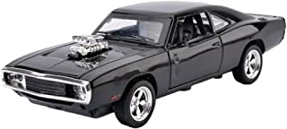 MyLifeUNIT 1:32 Dodge Charger 1970 Alloy Die-cast Car Model Collection light &Sound(Black)