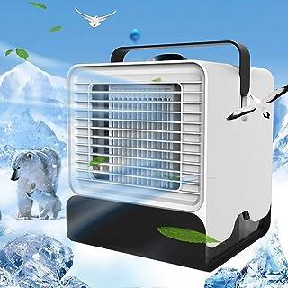 Junio1 Aire Acondicionado portátil Enfriador Ventilador de Verano con luz Nocturna Ventiladores
