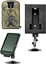 Ltl Acorn 5210A Wildlife Camera with 940nm Covert Infrared 12MP 1080P HD Video Recording with with Audio + Solar Panel Charger + Security Box