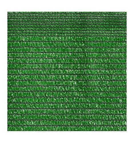 IMPORTACIÓN Malla Sombreo Verde 90% ocultación. Rollos de 2x10
