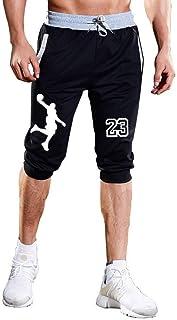 72e0822ce5d3 Mens Shorts Jordan 23 Jogger Knee Length Sweatpants Man Fitness Drawstring  Short