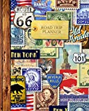 Road Trip Planner: Vacation Planner & Travel Journal / Diary for 4 Trips, with Checklists, Itinerary & more [...