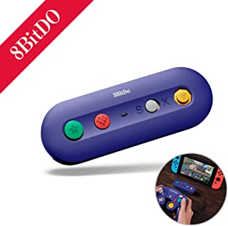 【8BitDoメーカー正規品】 スイッチ ゲームキューブ 接続タップ ワイヤレス 無線 コントローラー Switch TURBO連射 GC GAMECUB 大乱闘スマッシュブラザーズ対応