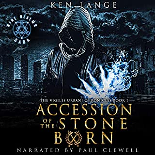 Accession of the Stone Born audiobook cover art