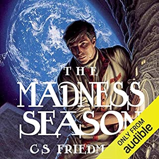 The Madness Season audiobook cover art