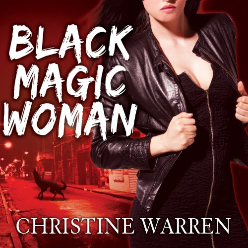 Black Magic Woman audiobook cover art