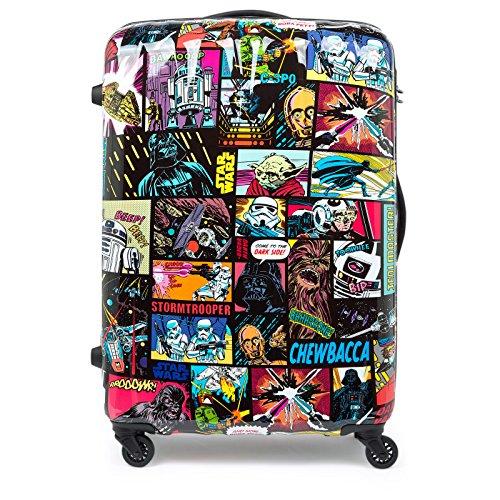 American Tourister by Samsonite Trolley 75cm Disney Edition Spinner con custodia cultura nero Stwar Wars glanz L