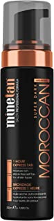 MineTan My Moroccan Self Tan Foam - Argan Oil Enriched Self Tanner Mousse For Intense Hydration, Vegan, 6.7 fl oz