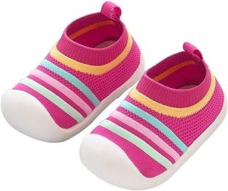 DEBAIJIA Zapatos para Niños 1-3T Bebés Caminata Zapatillas Niñas Suela Suave Malla Transpirable TPR Material Ligero Antide...