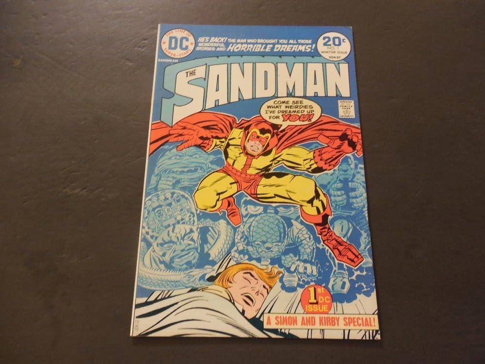 High material Sandman #1 Winter 1974 Bronze Max 53% OFF Kirby Age Jack Comics DC