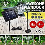 Gardeon Solar Water Pump Submersible Fountain Filter for Garden Pond Pool House