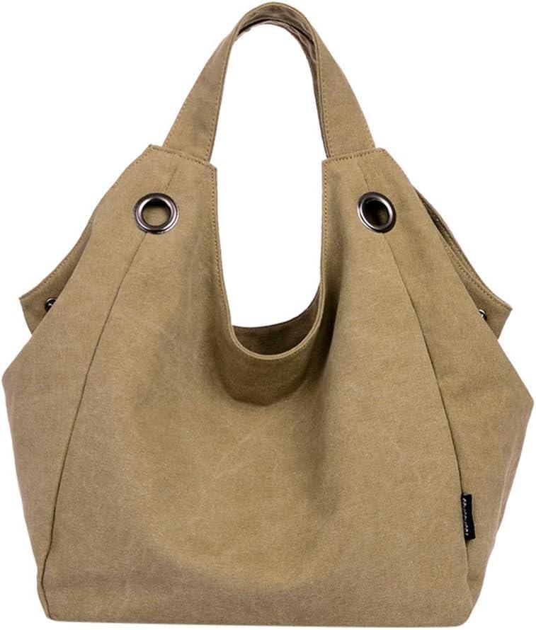 Large Pocket Casual Tote Women's Handbag Handbags Arlington Max 75% OFF Mall Canva Shoulder