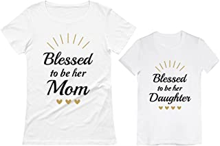 mother and daughter matching shirts