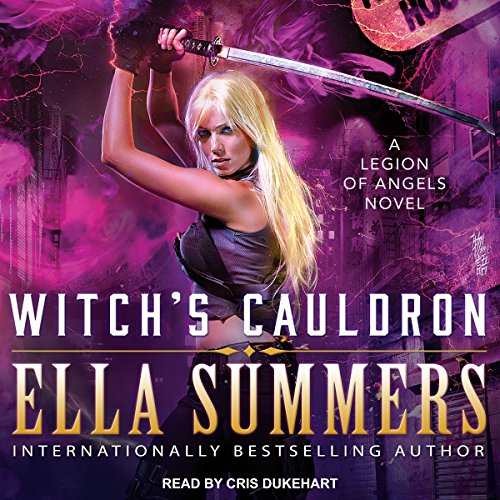 Witch's Cauldron     Legion of Angels, Book 2              By:                                                                                                                                 Ella Summers                               Narrated by:                                                                                                                                 Cris Dukehart                      Length: 6 hrs and 18 mins     8 ratings     Overall 4.8