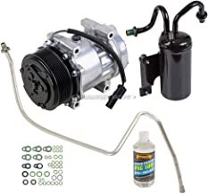 AC Compressor w/A/C Repair Kit For Dodge Ram Cummins Diesel 5.9L 2003 2004 2005 - BuyAutoParts 60-80312RK New