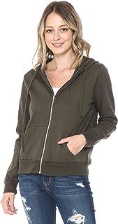 YourStyle Zip up Hoodie Fleece Jacket