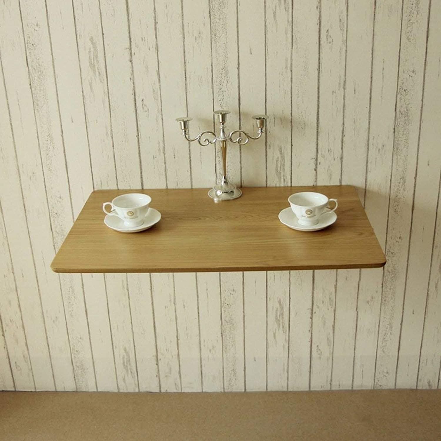 SED Multifunction Small Table Household Solid Wood Wall-Mounted Folding Dining Side Study Bedroom Simple Study Table