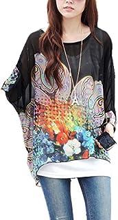 5092bc6d4b5 Amazon.co.uk: Floral - Blouses & Shirts / Tops, T-Shirts & Blouses ...