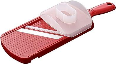 Kyocera Wide Julienne Slicer with Handguard Julienne Slicer, Red, CS-182S-NRD