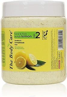 BODYCARE Lemon Hand and Foot Spa Scrub, 500 g