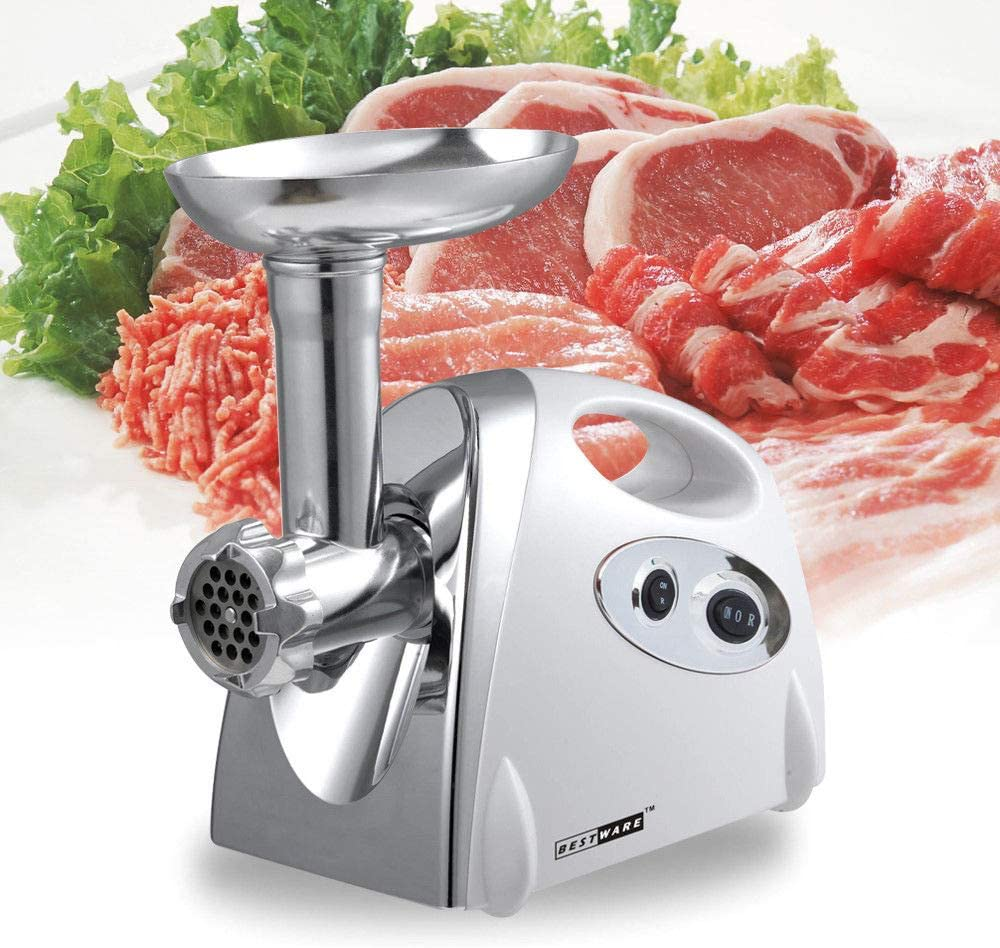 Mail order Electric Commercial Meat Grinder Free shipping NOPTEG Ste Watt Stainless 2800