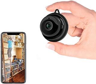 Sonkir Hidden WiFi Camera, Security Mini Spy Camera Covert Nanny Cam Indoor Video Recorder Support 2 Way Audio Motion Dete...