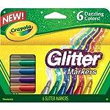 Crayola Glitter marcatori 6/Pkg-