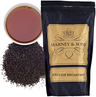 Harney & Sons English Breakfast Tea, Loose,1 pound (pack of 1) Straightforward and mellow with hints of toast and honey. S...