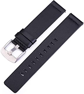 Incense-Ubiquity Genuine Leather Watchband 22Mm Compatible for Gear S3 Classic Frontier Gear 2 Neo Live Watch Band 20Mm Compatible for Moto360 Ii G