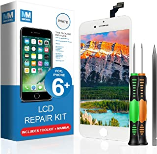 MMOBIEL Pantalla táctil LCD Compatible con iPhone 6 Plus (Negro) Kit Profesional de reparación Incluye Sencillo Manual