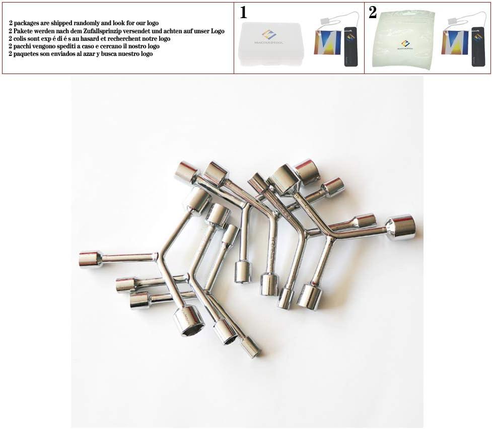 Bike Bicycle Y Type Repair Tool 3 Way 12-14-17mm Hexagonal Socket Wrench NEW