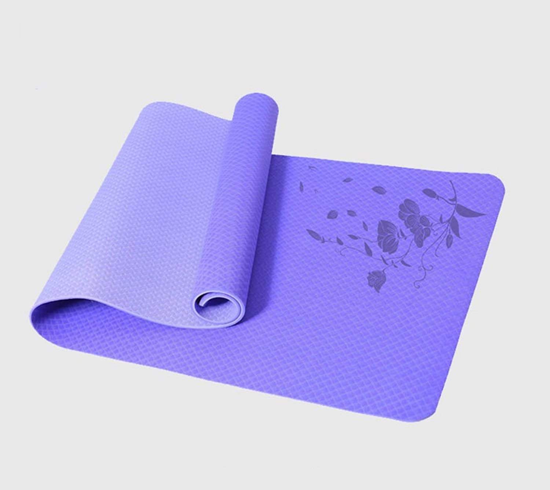 NANIH Home Professionelle Yoga-Decke Rutschfeste Trainingsmatte Fitnessmatte (Farbe   B, Größe   8mm)