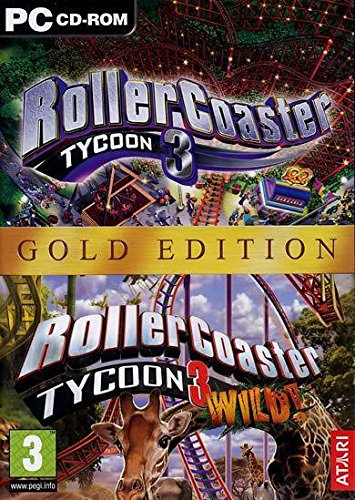 MSL RollerCoaster Tycoon 3: Gold Edition, PC