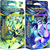Generisch Pokemon Sun & Moon Unbroken Bonds Set of Both Theme Decks: Mewtwo & Zeraora