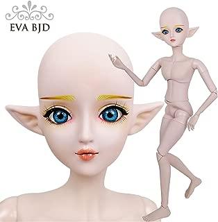 EVA BJD Handmade Makeup Spirit Demon Boy Elf Man Naked Nude 1/3 BJD Doll SD Dolls 60cm 24