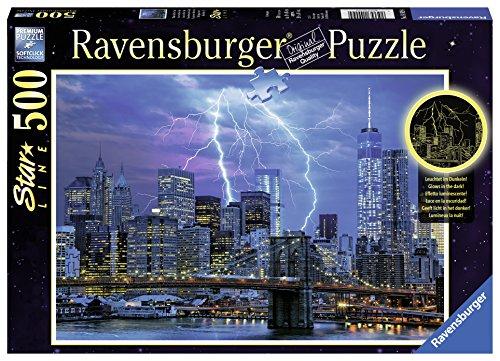 Ravensburger - Blitze über New York, 500 Teile Puzzle