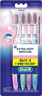 Oral-B Sensitive Whitening Toothbrush Buy 2 Get 2 Free (Soft)