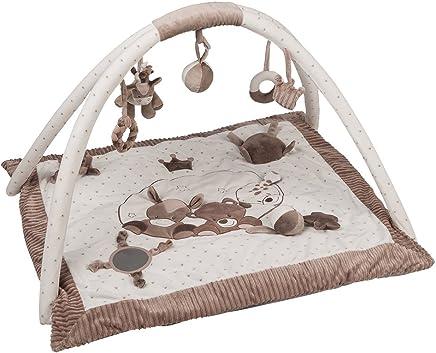 Id/éal pour Les Tapis De Jeux Enfant,18 Dalles qqpp EVA Puzzle Tapis Mousse Bebe Beige QQC-Jb18N 30*30*1cm