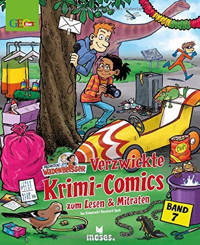 Redaktion Wadenbeißer Band 7 | Verzwickte Krimi-Comics zum Lesen und Mitraten | GEOlino