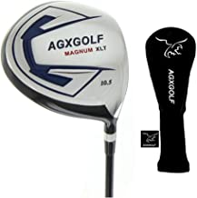 AGXGOLF Magnum Edition 460cc Driver Forged 7075 Head with Graphite Shaft Built in USA! Men's Left or Right Hand