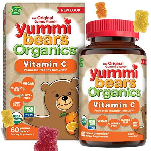 Yummi Bears Organics Hero Nutritionals Vitamin C Gummy...